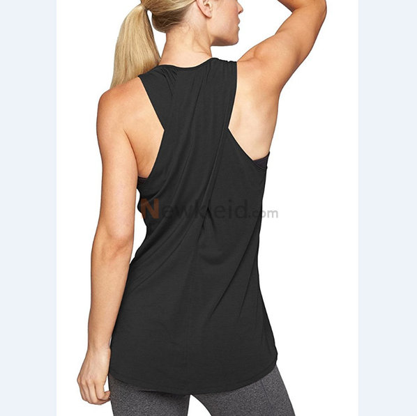 Polyester Rundkragen Temperament Leger Mode Tank Top Kleid - Bild 1