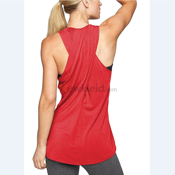 Polyester Rundkragen Temperament Leger Mode Tank Top Kleid - Bild 3