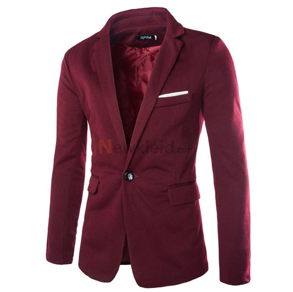 Blazer Blazer Slim Fit Casual Cord Mens Fashion - Bild 5